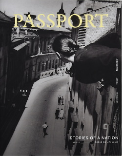 "Knygos ""PASSPORT: stories of a nation. II tomas"" viršelis"